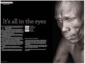 Go Magazine - It's All in the Eyes (John Kenny Piece)